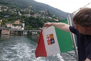 Italian ships travel freely on Lago Maggiore