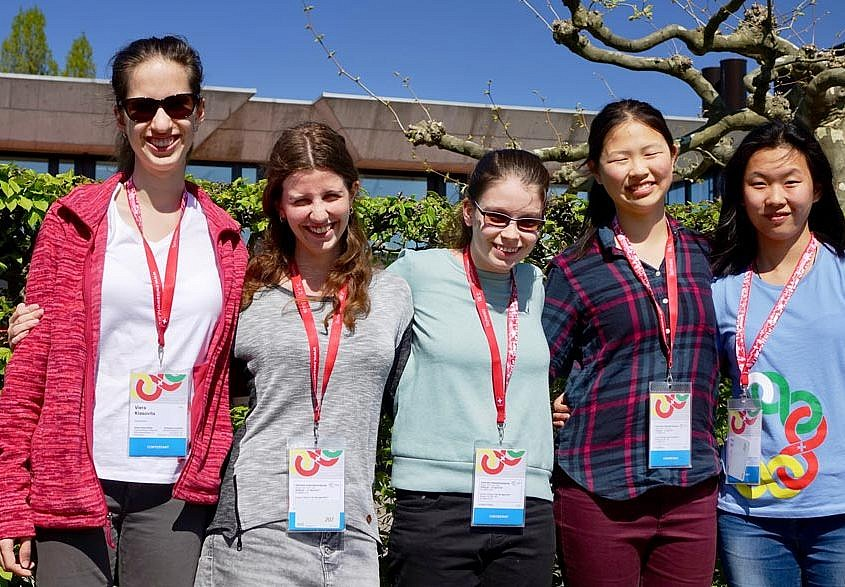 European Girls' Mathematical Olympiad EGMO 2017 in Zürich