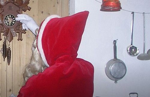 Santa traditions in Switzerland