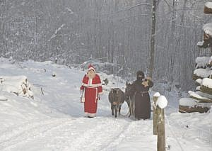 Of tree stands & Christmas mice - A modern day Swiss Christmas story